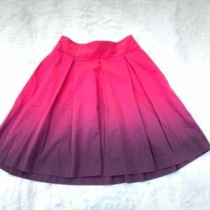 Express Design Studio Ladies Skirt Size 4 Pink Pur